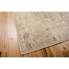 Best Deals Laminate Flooring Nourison Graphic Illusions Polyacrylic Parch Damask Rug Walmart Com