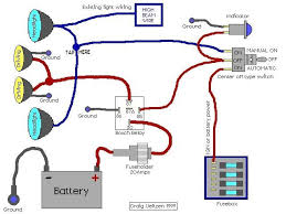 relay wiring diagram radio spotlight auto relay diagram