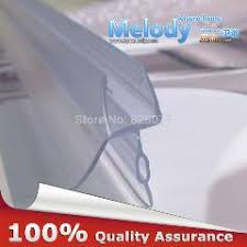 shower glass door seal 12mm glass 20mm wing 5mts f silicone sealing strip balcony shower