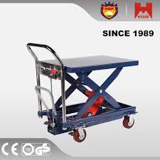 300kg stack easy hydraulic lift table truck buy scissor lift