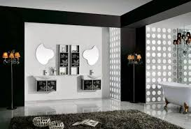 wall decor for bathroom ideas contemporary black and white bathroom ideas designs