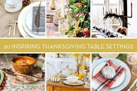 eye 20 stylish thanksgiving tablescapes and place settings