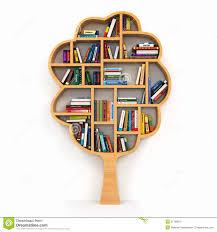 tree bookshelf blueprints tree of knowledge bookshelf on white