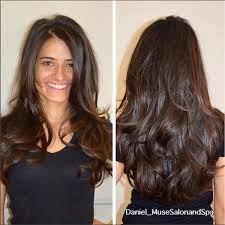 lots of movement in thick hair i created a long layered haircut