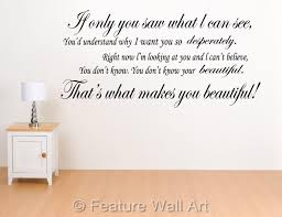 wall art decals song lyrics color the walls of your house wall art decals song lyrics one direction your beautiful song lyrics wall