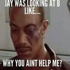 Meme Jay Z - kudos to jay z for not hitting solange back verastic