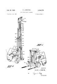 patent us3394778 lift truck mast assembly google patents