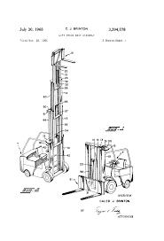 patent us3394778 lift truck mast assembly google patents