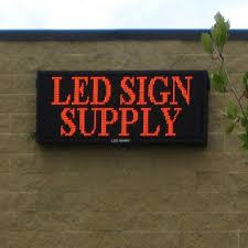 lighted message board signs 22 best outdoor electronic message board images on pinterest led