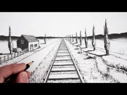 basic perspective drawing part 01 in hindi urdu one point