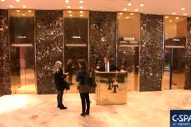 Trump Tower Inside C Span Is Live Streaming Trump Tower U0027s Golden Elevators The Verge