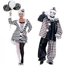 Couples Jester Halloween Costumes 50 Vintage Halloween Costume Ideas
