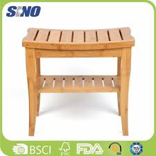 japanese bamboo bath shower foot stool shower collection bench 2
