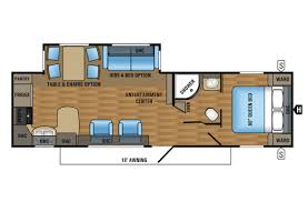 s floorplan rear kitchen rv floor plan extraordinary house voyager