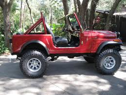dark red jeep 1980 jeep cj 7 information and photos momentcar