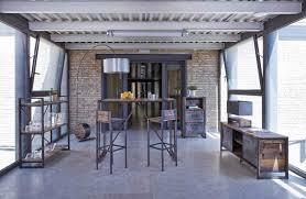 cuisine bois et metal tabouret de bar bois metal cool le tabouret de bar industriel de