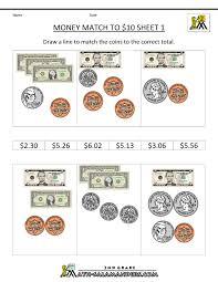 2nd grade math worksheets money