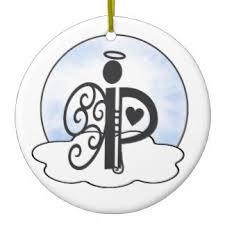 letter p ornaments keepsake ornaments zazzle