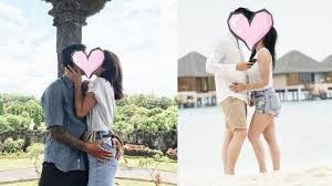 bikin baper 10 artis ini pamer foto ciuman dengan pasangannya