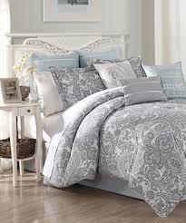 s l home fashions blue luxe nine piece comforter set comforter
