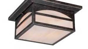 Flush Mount Stained Glass Ceiling Light Close To Ceiling Lights Youtube