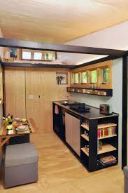 Tiny House Kitchens by Pine Wood Nutmeg Raised Door Tiny House Kitchen Ideas Sink Faucet