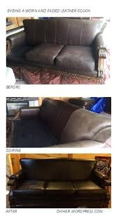 Dye For Leather Sofa Dyed Leather Makeover Diyher