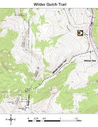 Vail Colorado Map by Oric Colorado Summit County Region Day Hiking Trails Index Page