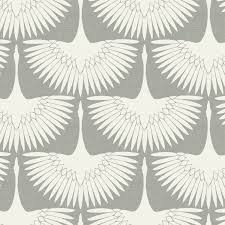 tempaper wallpaper genevieve gorder feather flock chalk removable wallpaper tempaper