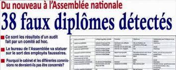 travail de bureau sans diplome tchad faux diplômes des voleurs de diplômes continuent de
