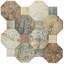 18x18 ceramic tile tile the home depot silex decor