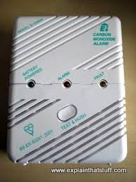 carbon monoxide detector flashing green light how do carbon monoxide detectors work explain that stuff