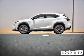 lexus nx sport review 2015 lexus nx 200t video reviewmotoring middle east car news