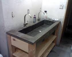 native trails trough sink sler concrete bathroom sinks sink vanity ideas transbordesaude