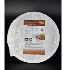 boeuf cuisiné mijoté de boeuf aux carottes hyperprotéiné plat cuisiné ligne et