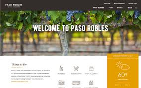 Paso Robles Winery Map Paso Robles Wine Country Alliance Unveils Revamped Pasowine Com