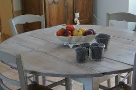 table cuisine en bois peindre table bois ides