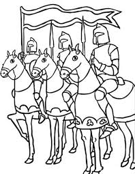 55 knight coloring pages images knight