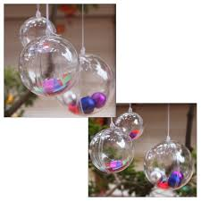 best image of clear plastic christmas ornament balls all can
