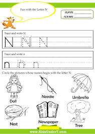 kids under 7 alphabet handwriting worksheets a to z kindergarten
