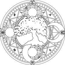 best solutions of printable moon mandala coloring pages on