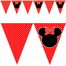 birthday banner printable minnie mouse the best banner 2017