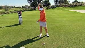 handicap swing annika sorenstam swing tip for low handicap golf channel