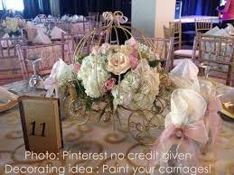 princess carriage centerpiece the 55 best images about party on vintage