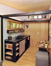 this color blocked tiny home is gorgeous and eco friendly curbed