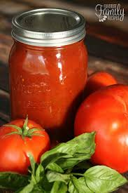 homemade canned spaghetti sauce favorite family recipes