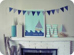 interior design best nautical themed baby shower decorations