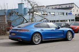 Porsche Macan Midnight Blue - 2017 porsche panamera looks great in blue autoevolution