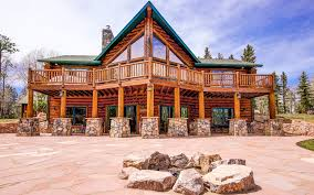log house log cabin kits let you build your dream mountain retreat curbed