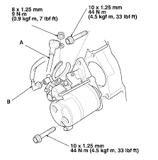 2001 honda accord starter how do you replace the starter on a 2002 honda accord